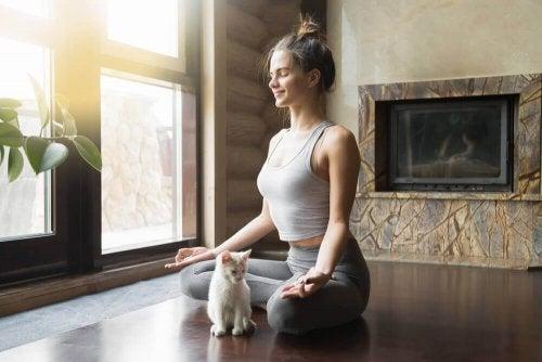 йога дома