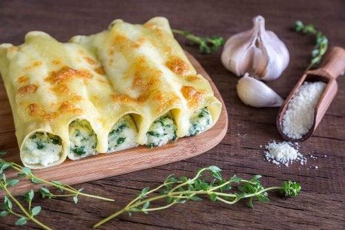 Каннеллони с овощами: вкусный домашний рецепт