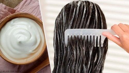 Домашняя маска для волос из майонеза