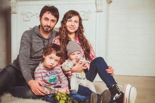Семейные фотографии с ребенком