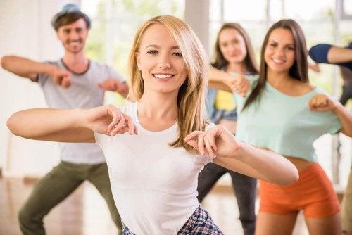 Занятия танцами улучшают физическую форму