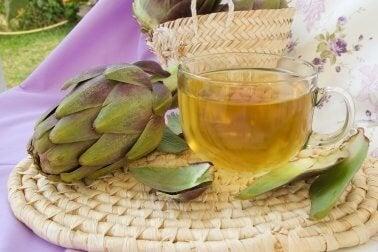 Высокий холестерин и чай из артишока
