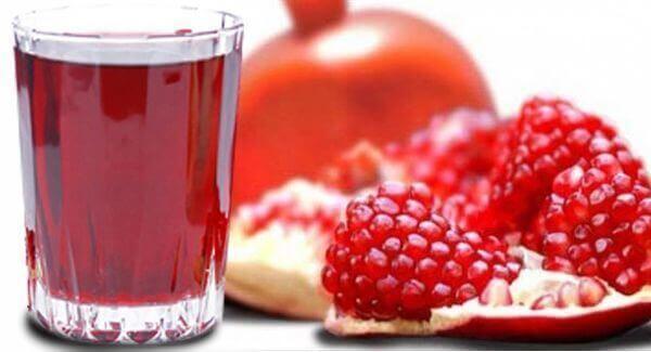 Гранатовый сок от повышенного давления