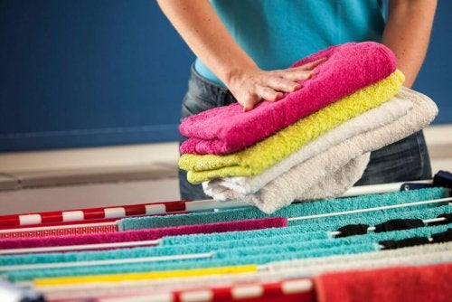 Домашний кондиционер для смягчения полотенец