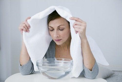 Паровые ванны для очищения легких