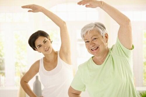 Персональные тренировки помогут избежать набор веса