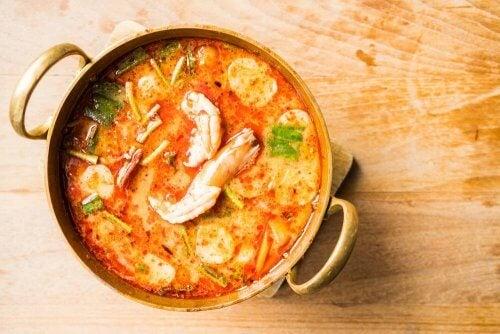 Суп из морепродуктов: простой и вкусный рецепт
