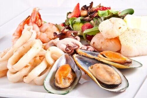 Рецепт из морепродуктов