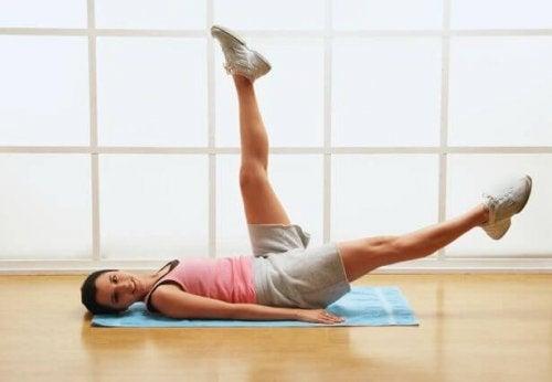 Это упражнение поможет укрепить живот
