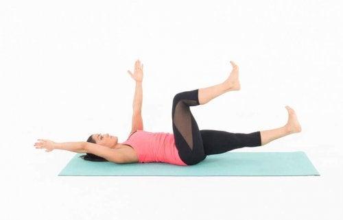 Упражнение чтобы укрепить живот
