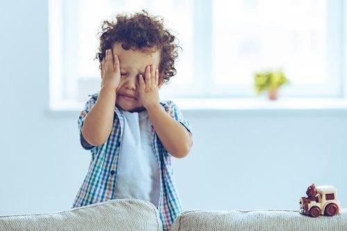 Истерики у маленьких детей