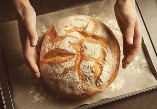 Как испечь хлеб из муки