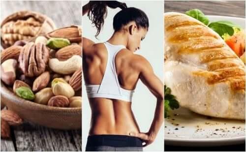 Эффективная диета, чтобы держать тело в тонусе
