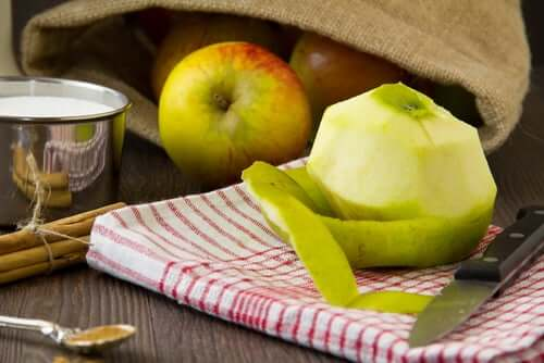Яблочная кожура и Пищевая непереносимость