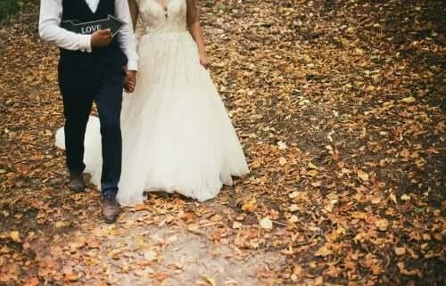 Идеальный образ для осенней свадьбы