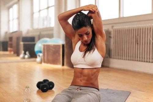Упражнения чтобы держать мышцы в тонусе