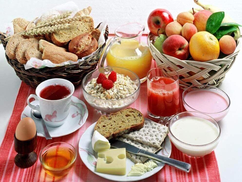 Завтрак для сбалансированной диеты