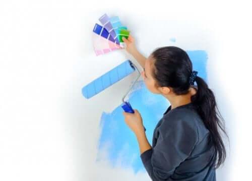 Правильная краска для стен позволит сэкономить электричество