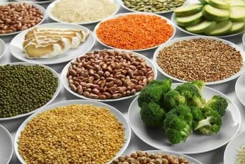 Вегетарианская диета и растительный белок