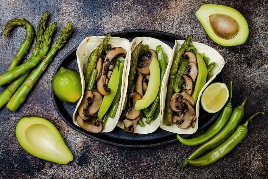 2 способа приготовить очень вкусные такос для веганов