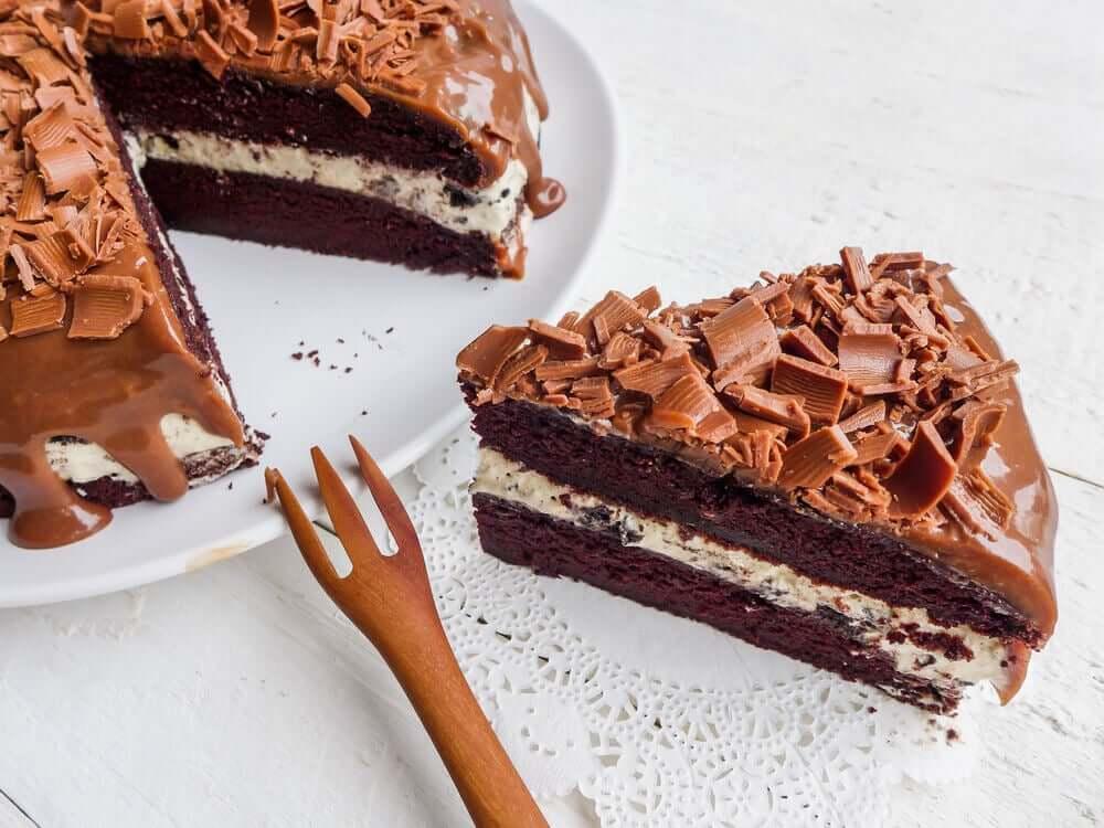 Рецепты десертов: шоколадный торт