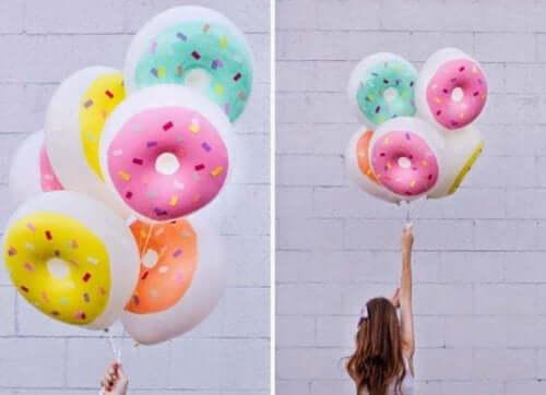 Шарики-пончики