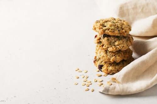 Овсяное печенье без сахара и сливочного масла!