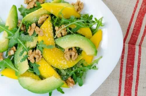 Блюда с манго