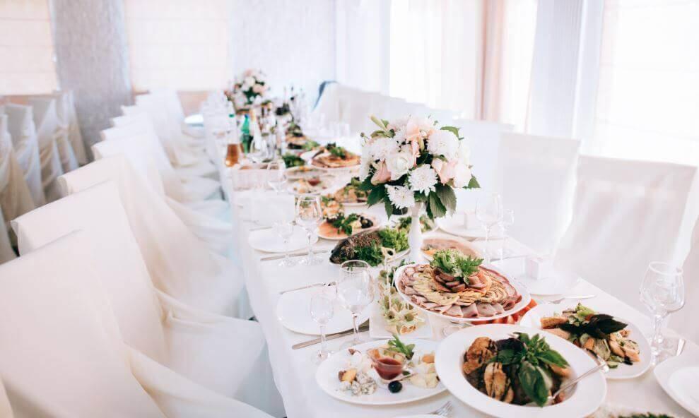 Идеи меню на свадьбу