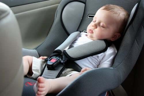 путешествие с ребенком в автокресле