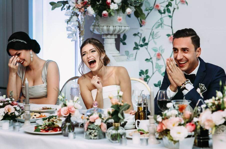 Выбор меню на свадьбу