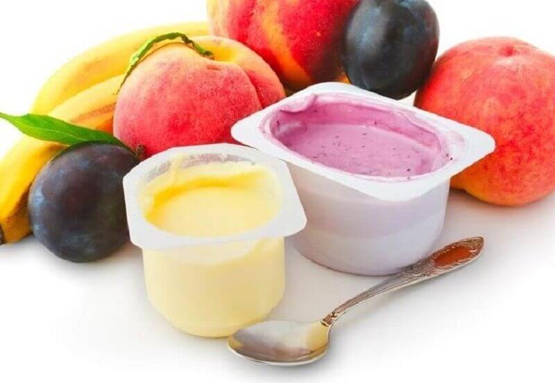 Фруктовые йогурты, от которых вы поправляетесь