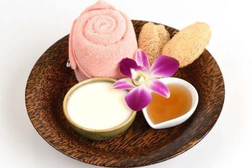 Натуральный крем для осветления кожи