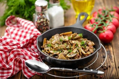 Блюда с грибами: три интересных рецепта